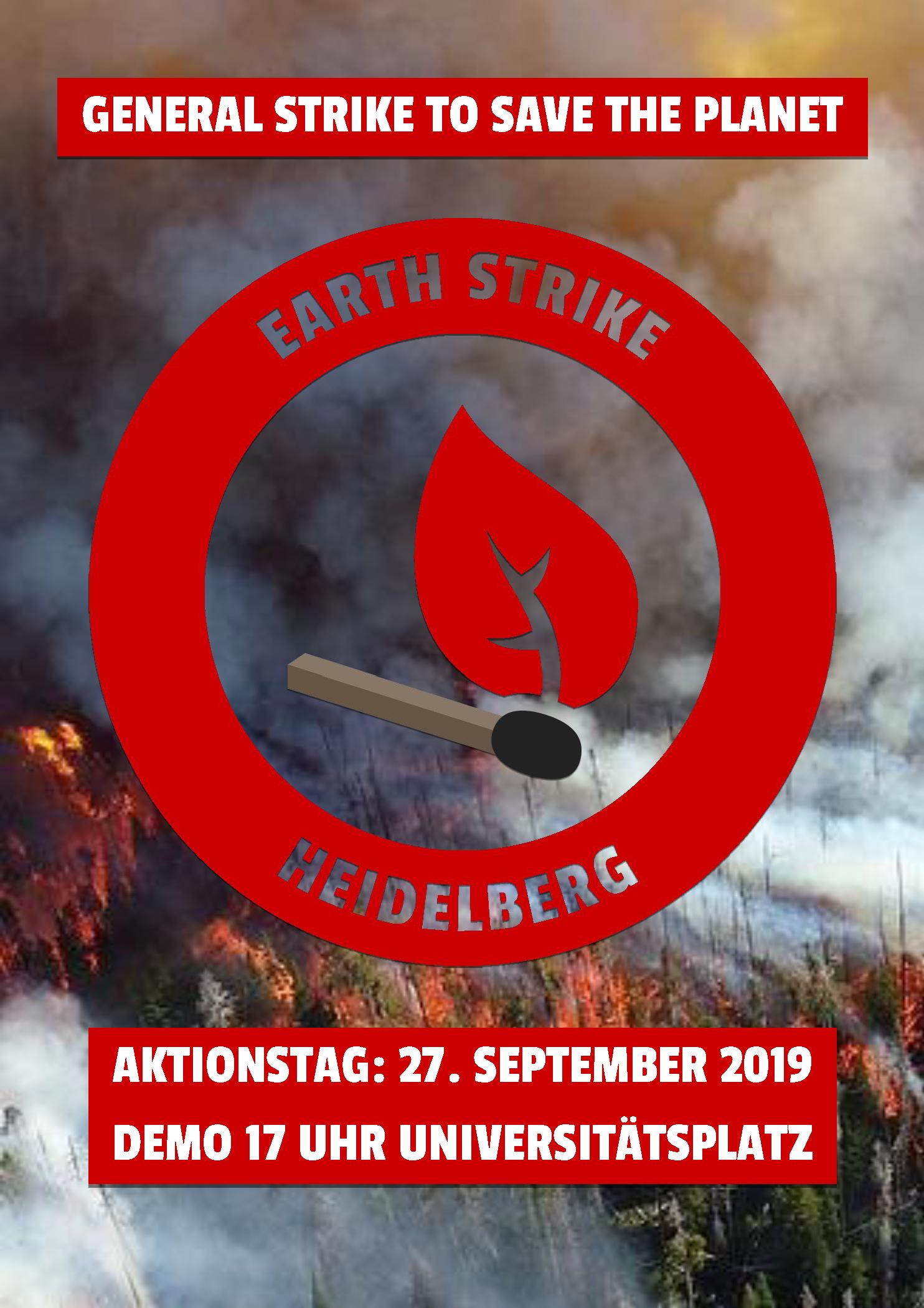 Earth Strike 27. Sept. 2019