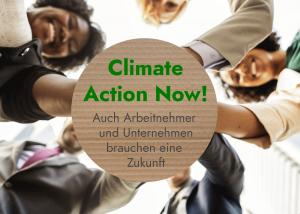 Aktionen zum Klimaschutz in Unternehmen
