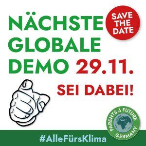 Globale Demo 29. November