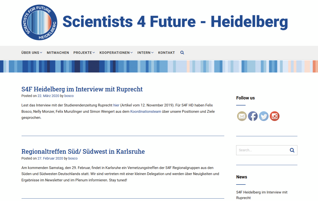 Scientists for Future Heidelberg